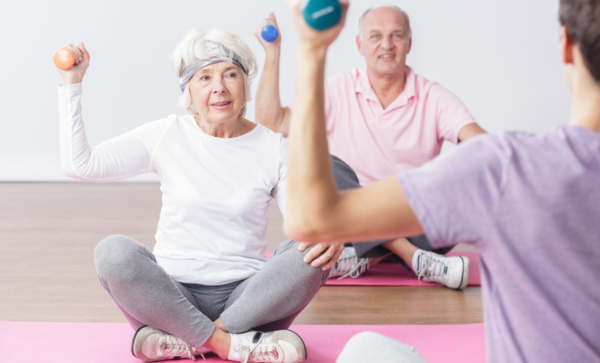 "How does the ""elderly exercise appropriate"""